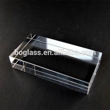 BK7 glass block, clear optical glass in bulk sale