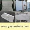 Italian Tile Slab Countertop Vanity top Bianco Carrera White Marble