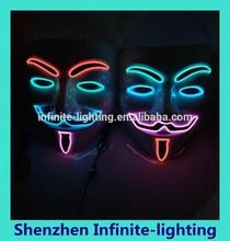 Popular Flashing mask,shinning mask,special mask good quality