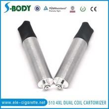 factory price 510 dual coils cartomizer 510 dc cartomizer overstock clearance