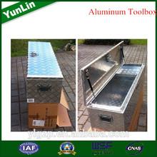 to adopt advanced technology aluminum storage box