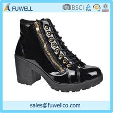 Hot sale fashion high heels snow boots women