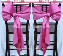 cheap ruffled chair sash factory price