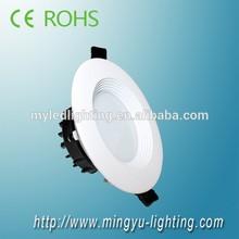 High lumen smd5630 warm white led ceiling downlighting led downlight 15W