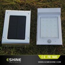 2014-2015 Newest 2ND generation (china factory ) LED solar motion sensor light with solar power (ELS-11P)