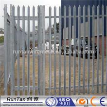 UK BS1722 standard hot sale second hand palisade fencing for sale