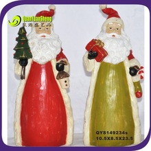 2014 resin santa claus wholesale craft supplies