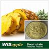 100% organic pure natural pineapple extract bromelain powder
