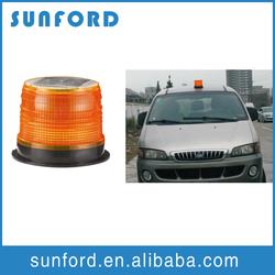 Super car safety outdoor strobe light solar beacon