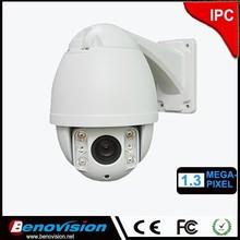"High speed dome 720p hd IP outdoor camera 4"" inch PTZ 10X optical pan tilt zoom Onvif 1.3 megapixel security ip cam"