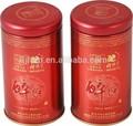 tradicional chinesa de estanho caddy chá para a embalagem