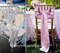 cristal vermelho cadeira organza sashes cadeira empate decoração para casamento para o casamento