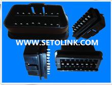 2014 GREAT 12v BLACK J1962 OBDII 16 PIN ADAPTER CONNECTOR PLUG