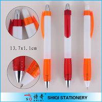 Translucent Grip Plastic click Ball Pen(SQ4315)