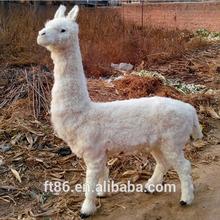 2015 symbol new year simulation imitated plush alpaca animal