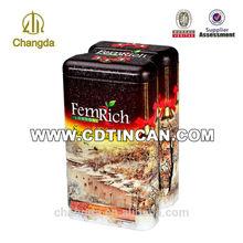 tea packaging tin box sale item:CD - 231