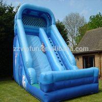 Top level cheapest slip slide inflatable