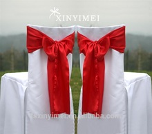 elegent wedding chair sashes for outdoor