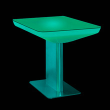 Lounge furniture LED Drum Stool,outdoor furniture led light table,rgb color changing led glowing table