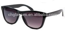 2014 hot sale custom plastic wayfarer sunglasses