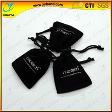 Gift use popular custom velvet pouch bag