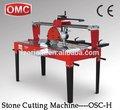 Osc-h taşınabilir el doğal brock kesme makineleri çin
