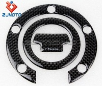 The Trend Of The K3 Carbon Fiber Fuel Oil Tank Protector Pad Sticker Black Decal Set Good Quality