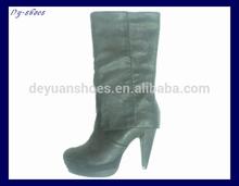 moda İtalyan kışlık botlar kadın yüksek topuklu