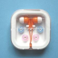 silicone earphone rubber cover/ earphone in bulk FS-130