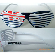 Best quality most popular shutter shade sunglasses/party favors