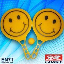 professional custom pp plastic beach racket toy