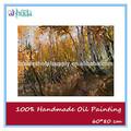 el otoño impresionista bosque pintura al óleo