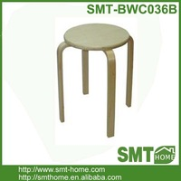 cheapest simple plywood dining stool/bentwood wooden stool