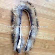 2014 Winter Fashionable Coat Raccoon Fur Trimming