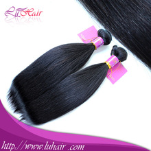 Wholesale virgin unprocessed 7A Indian straight wet and wavy virgin indian remy hair extension