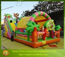 Hot sale big kids inflatable fun city amusement park