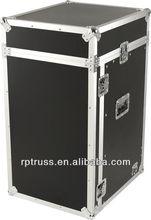 DJ equipment used waterproof aluminum flight case with wheel