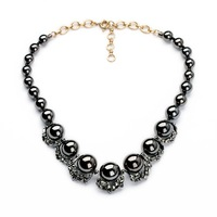 Hot New Products For 2015 Black Beaded Necklace