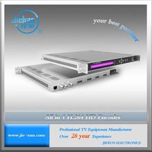 Video encoding support MPEG4/H.264 AVC HD SDI encoder