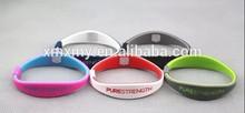 fashion pure strength silicone power bio magnetic bracelet