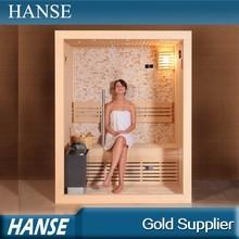 HS-SR1103A luxury personal sauna bath room/home saunas prices/wood sauna room