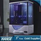 HS-SR073A rectangular steam shower/jetted tub shower combo/steam bath price