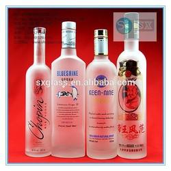 2014 New Style High Quality empty grey goose vodka bottle wholesale