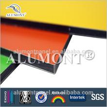 coloredfibre cement compressed flat sheetfibre cemetcladding wall cladding panel hot sale Alumont acm
