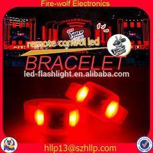 Exporter & Wholesaler event /party led touch screen bracelet