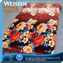 queen size high quality 100% organic cotton 2014 baby raschel blanket
