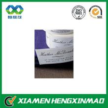 Elegant self adhesive paper label / label sticker for hot selling