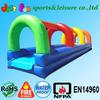 Hot sale rainbow inflatable water slip slide for sale,pool water slide,cheap inflatable slides