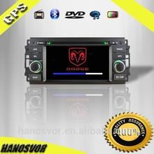 "6.2""inch HD digital screen/GPS/BT/USB/SD car radio dvd gps navigation system in Jeep Dodge"