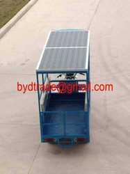 Electric assist solar car/rickshaw/tricycle